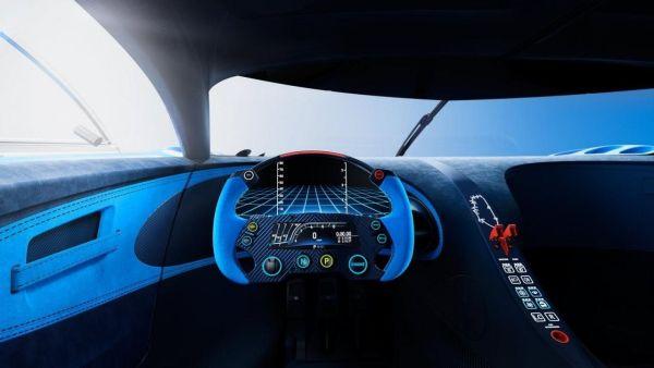 Bugatti Vision Gran Turismo 2016 - Interior