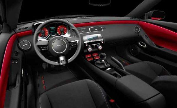 Chevrolet Camaro SS 2016 Interior