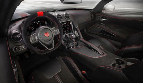 2016 Dodge Viper - Interior