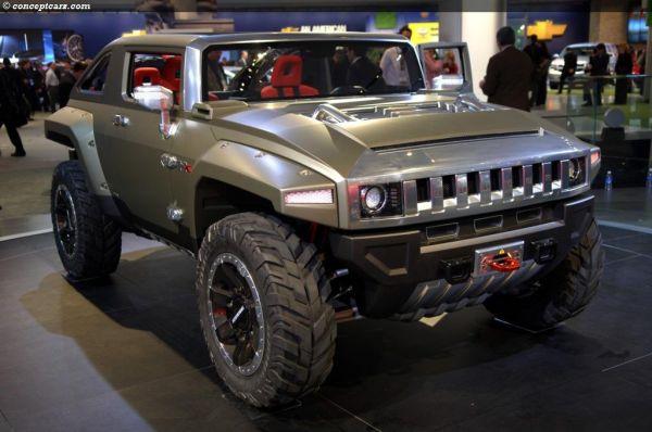 Hummer HX Concept, Price, Specs, Release Date