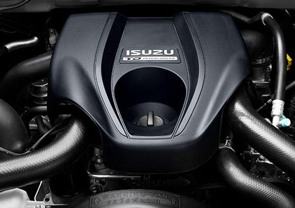 Isuzu DMax 2016 Engine