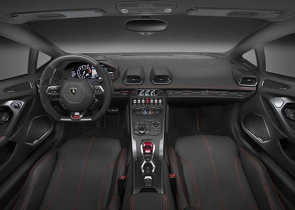 2016 Lamborghini Huracan LP 580-2 - Interior