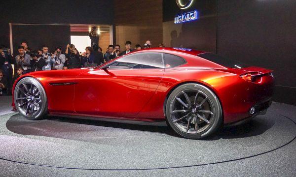 2017 Mazda RX-Vision Supercar Concept - Side View