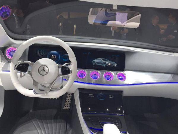 Mercedes-Benz Concept IAA 2015 - Interior