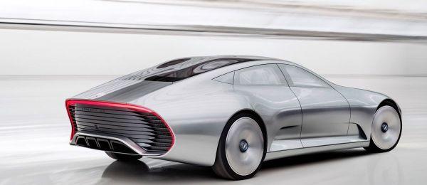 Mercedes-Benz Concept IAA 2015 - Rear View