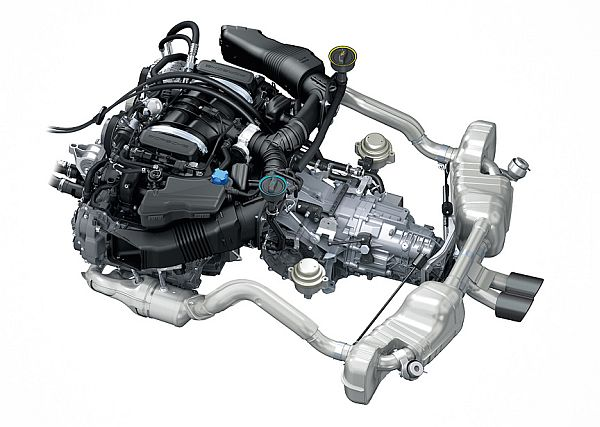 2016 Porsche Cayman GT4 Clubsport - Engine